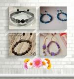 ساخت دستبند با بند کشویی زیبا و مدرن با طرح های مختلف